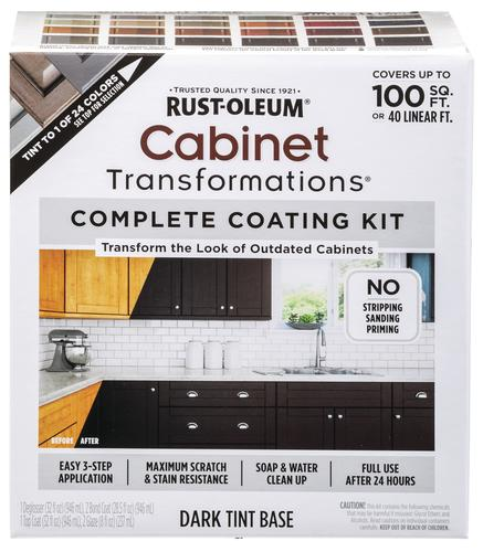 Rust Oleum Cabinet Transformations Complete Coating Kit At Menards