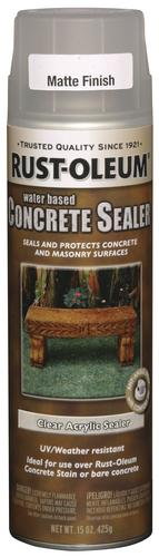 Rust-Oleum® Clear Matte Concrete Stain and Sealer Spray - 15