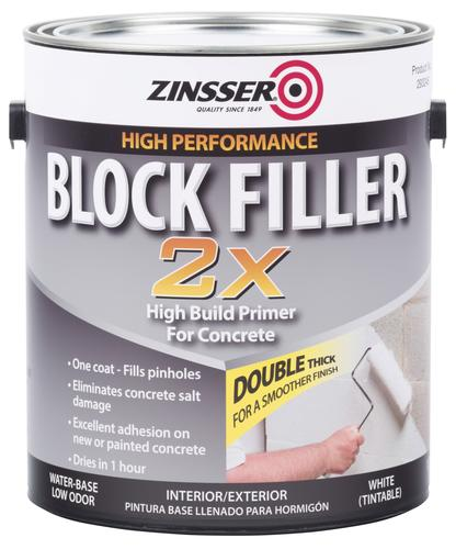 Zinsser Block Filler 2X High Build Interior Primer 1 gal at Menards