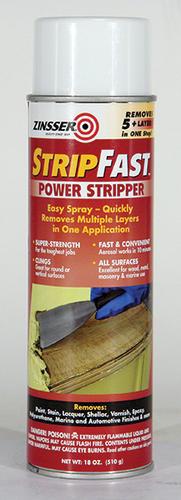 Zinsser Stripfast Power Stripper Spray And Paint Remover 18 Oz At Menards
