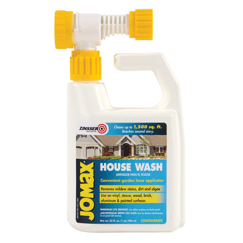 Zinsser Jomax House Wash with Hose Mount 1 qt at Menards