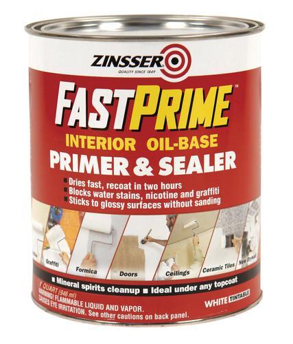 Zinsser Fastprime Interior Oil Base Primer Sealer At Menards