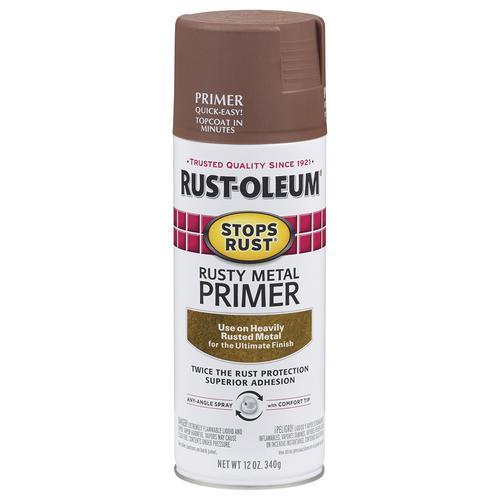 Rust Oleum Stops Rusty Metal Enamel Primer Spray