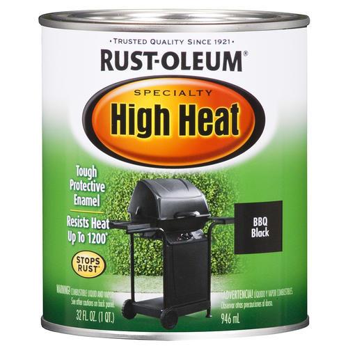 Rust-Oleum® Specialty BBQ Black High-Heat Paint at Menards®