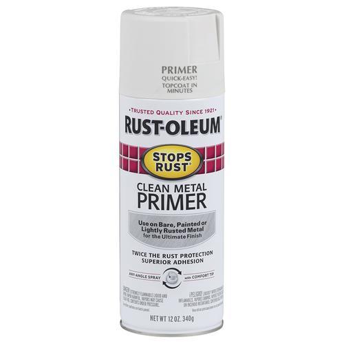 Rust-Oleum® Stops Rust® Clean Metal Primer Spray Paint - 12