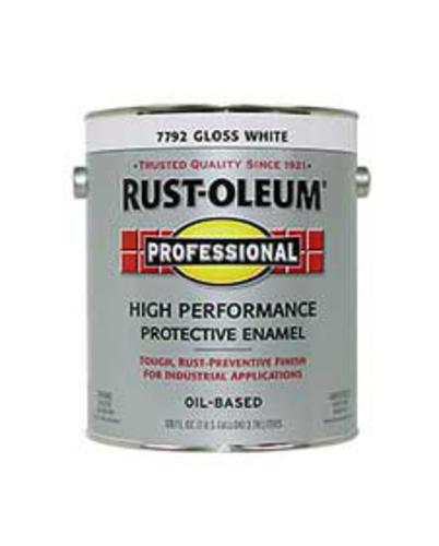 Rust Oleum Professional Gloss White High Performance Enamel 1 Gal