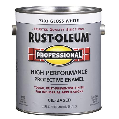 Rust-Oleum® Professional Gloss White High-Performance Enamel - 1 gal