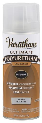 Varathane Satin Oil Based Interior Polyurethane Spray 11 25 Oz At