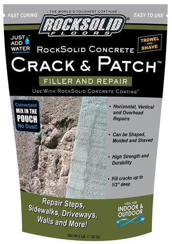 Rust-Oleum® Rocksolid® Crack & Patch at Menards®