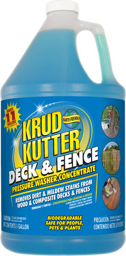 Krud Kutter Deck and Fence Pressure Washer Concentrate 1 gal at