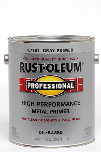 Rust Oleum Professional Gray Low Voc High Performance Metal Primer 1