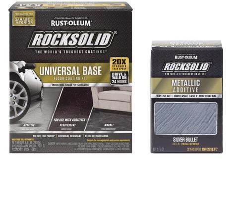 Rust-Oleum® RockSolid® Polycuramine® Metallic System at Menards®