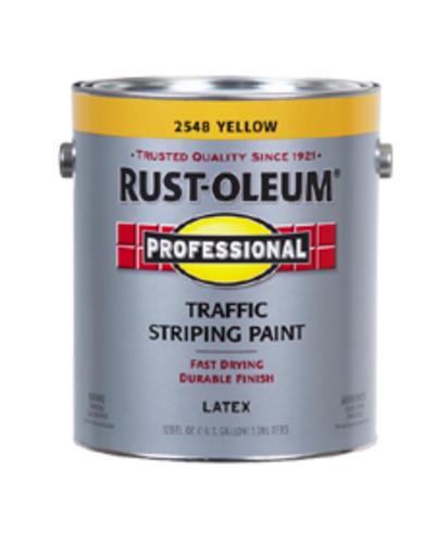 Rust-Oleum® Professional Yellow Traffic Striping Paint - 1