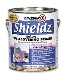 Zinsser shieldz universal wallcovering primer 1 gal at - Paintable wallpaper menards ...