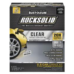 Rust-Oleum® RockSolid Polycuramine Clear Top Coat - 90 oz