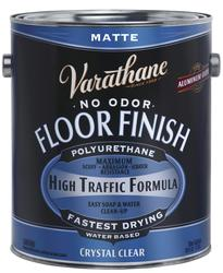 Varathane 174 Matte Water Based Floor Finish 1 Gal At Menards 174
