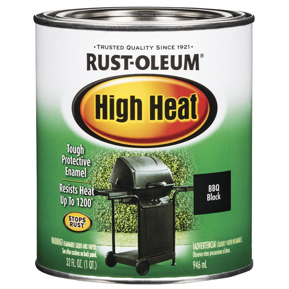 Rust Oleum Specialty Bbq Black High Heat Paint At Menards