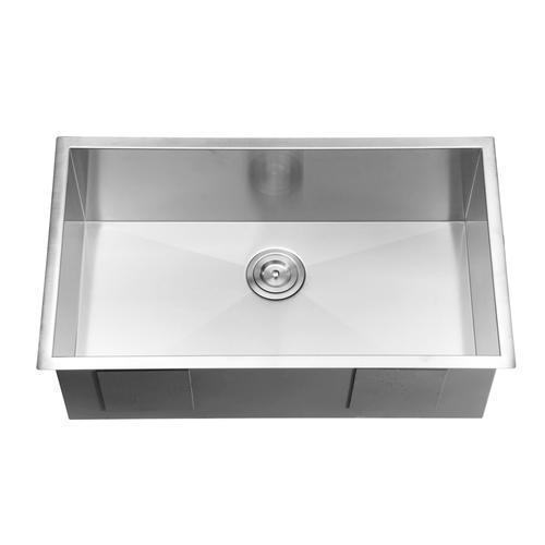 Ruvati 32-inch Undermount 16 Gauge Zero Radius Kitchen Sink ...
