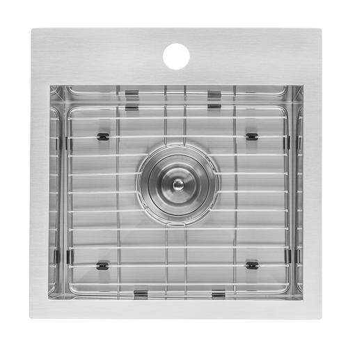 Ruvati 15 X 15 Inch Drop In Bar Prep Sink 16 Gauge