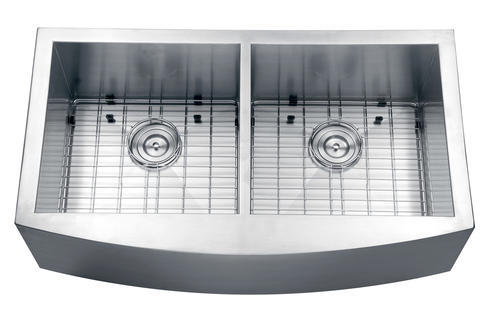 Ruvati 36  Apron-front Workstation Low-Divide Double Bowl 50/50 Farmhouse  sc 1 st  Menards & Ruvati 36