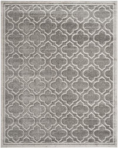 Safavieh Amherst Gray Indoor Outdoor Area Rug 8 X 10