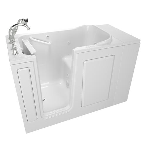 "safety tub gelcoat value series 28"" x 48"" walk-in bathtub with air"