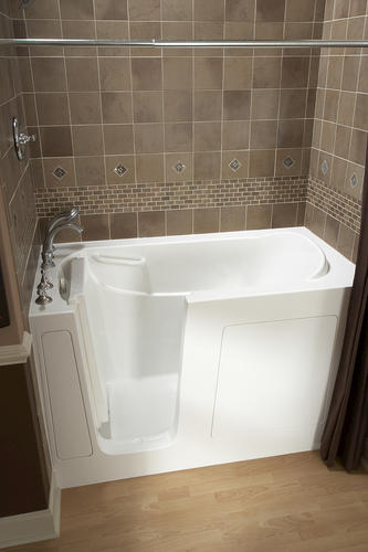 "safety tubs® 60"" w x 30"" d jet massage walk-in bathtub - left hand"