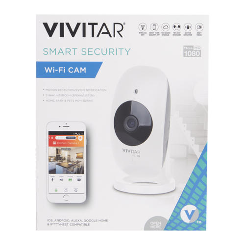 Vivitar® 1080p HD Wi-Fi Wireless Security Camera at Menards®
