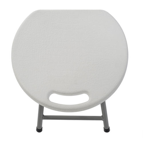 Miraculous Muscle Rack White Plastic Folding Stool 4 Pack At Menards Pabps2019 Chair Design Images Pabps2019Com