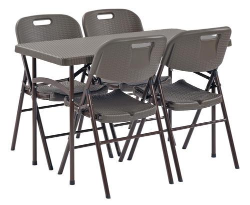 Sandusky Lee 174 48 Quot W X 24 Quot D Plastic Folding Tables At