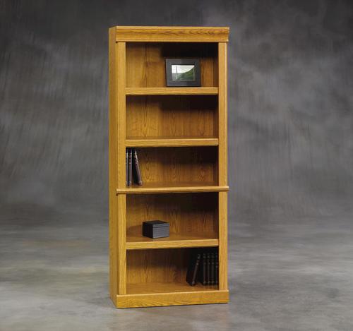 Sauder Orchard Hills Carolina Oak Library Bookcase At Menards