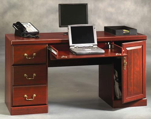 Sauder Heritage Hill Clic Cherry Computer Desk Model Number 404944 Menards Sku 4826408