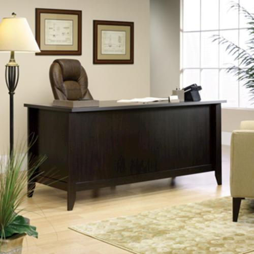 Sauder® Shoal Creek Jamocha Wood Executive Desk At Menards®