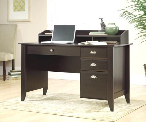 Sauder Shoal Creek Jamocha Wood Desk At Menards