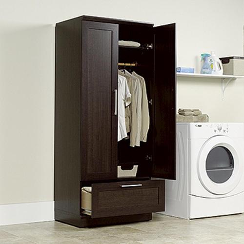 Sauder® HomePlus Dakota Oak Wardrobe/Storage Cabinet At Menards®