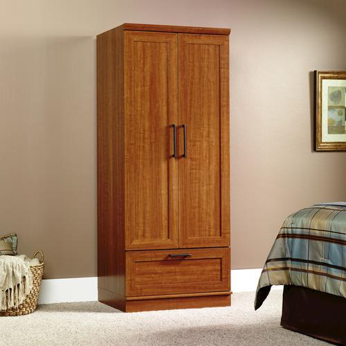 Sauder® HomePlus Sienna Oak Wardrobe/Storage Cabinet at Menards®