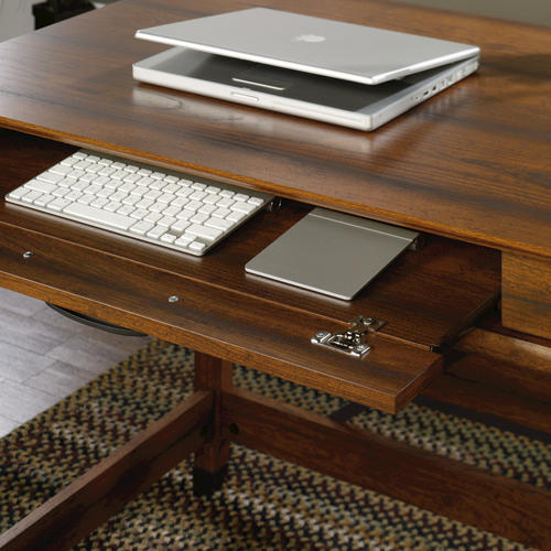 Sauder Carson Forge Washington Cherry Writing Desk At Menards