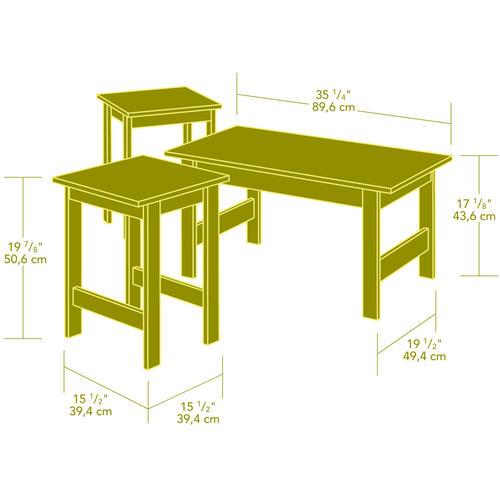 Gentil Sauder® Beginnings® Cinnamon Cherry Table Set   3 Pc At Menards®