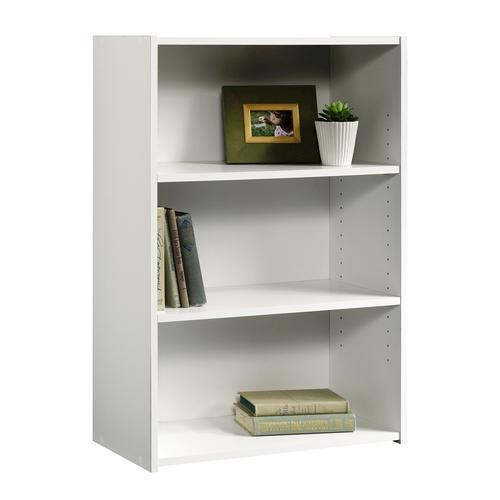 Sauder Beginnings Soft White 3 Shelf Bookcase At Menards