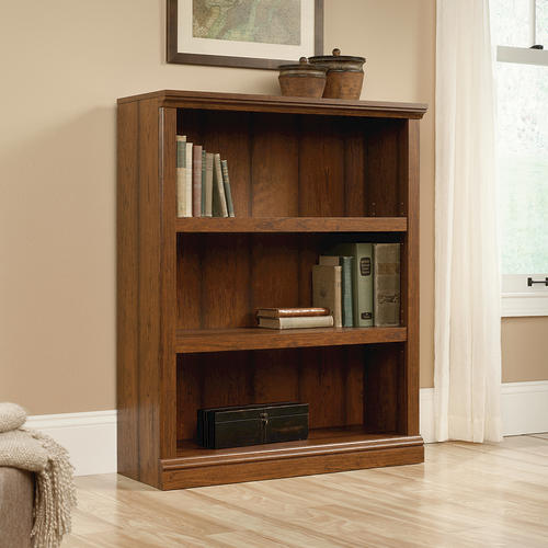 Admirable Sauder Select Washington Cherry 3 Shelf Bookcase At Menards Download Free Architecture Designs Rallybritishbridgeorg