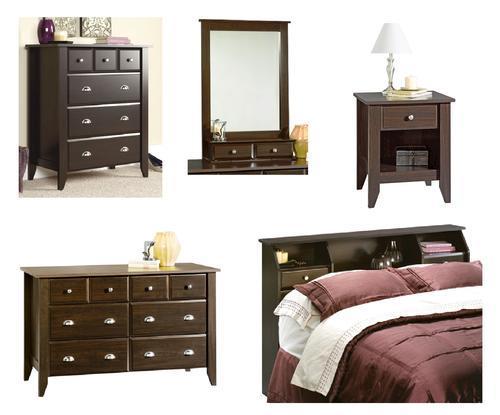 Sauder Shoal Creek Collection 5 Piece Bedroom Set At Menards