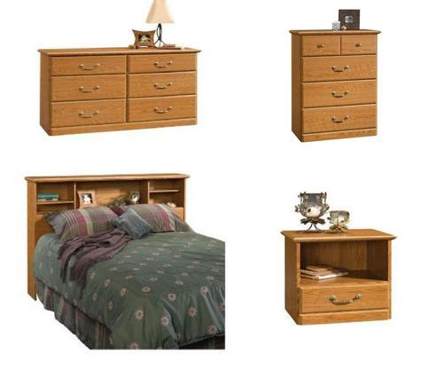 Sauder Orchard Hills Collection 4 Piece Bedroom Set At Menards