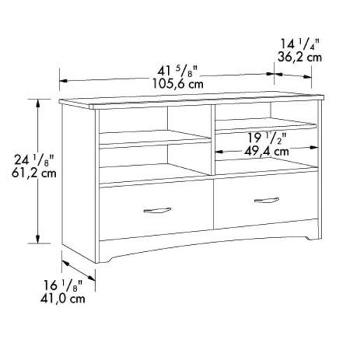 Sauder Beginnings Tv Stands Home Design Ideas