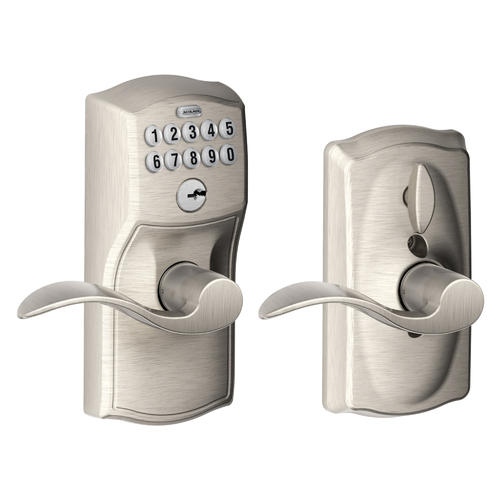 Schlage® Accent Electronic Keyless Flexlock Entry Lever at Menards®