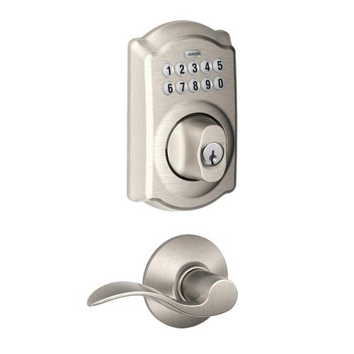 Schlage 174 Keypad Deadbolt Combination And Accent Lever With