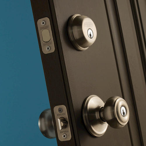 Schlage 174 Single Cylinder Deadbolt Combination With Keyed