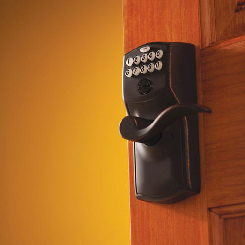 Schlage 174 Accent Electronic Keyless Flex Lock Entry Lever