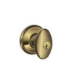 Schlage 174 Siena Knob Keyed Entry Lock At Menards 174