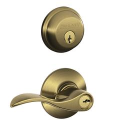 Schlage 174 Single Cylinder Deadbolt Combination And Keyed
