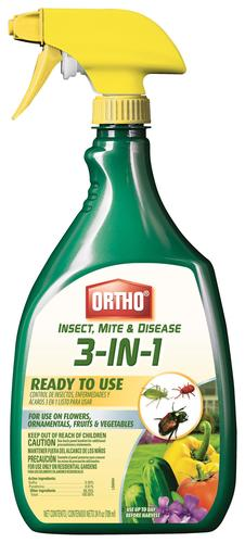 Ortho® Ready-to-Use 3-in-1 Insect Mite & Disease - 24 oz  at Menards®